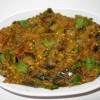 Китайская кухня.баклажаны , тушенные с луком.