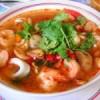 Остро – кислый креветочный суп «том ям кунг». Таиланд.