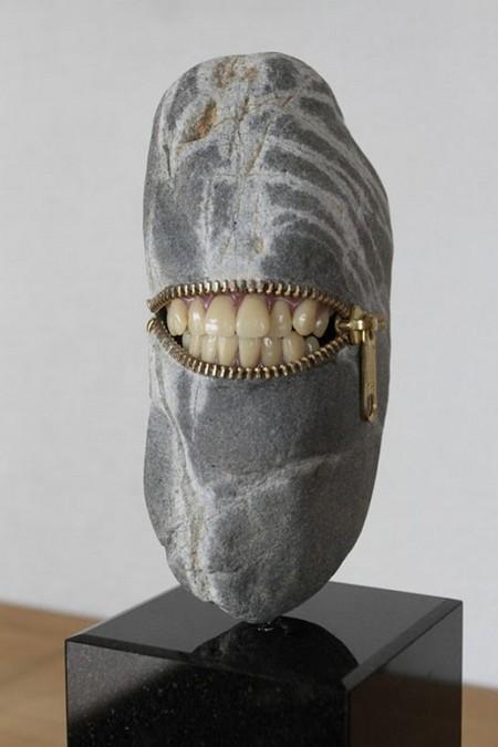 Каменные скульптуры Хиротоши Ито