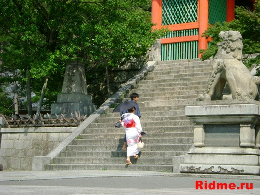 Киото.Киемидзудэра –  храмовый ансамбль