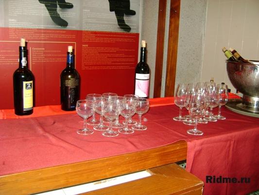 Макао.Музей вин.Дегустация