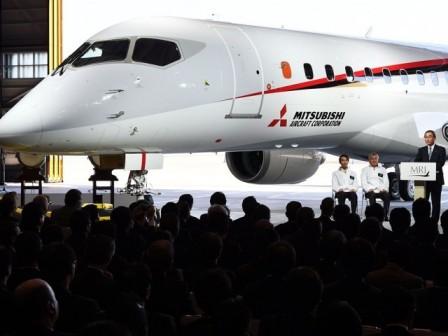 Коммерческие самолеты от Mitsubishi