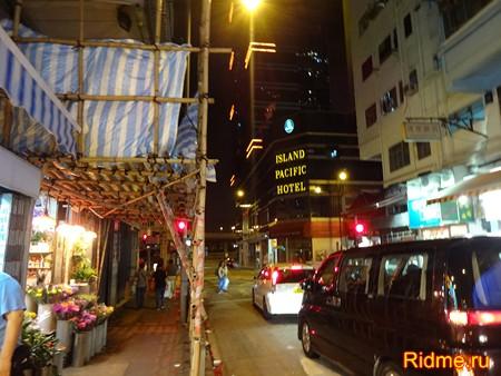 Дорожное движение в Гонконге