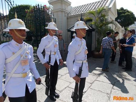 Таиланд, Бангкок, Королевский дворец. Королевская гвардия