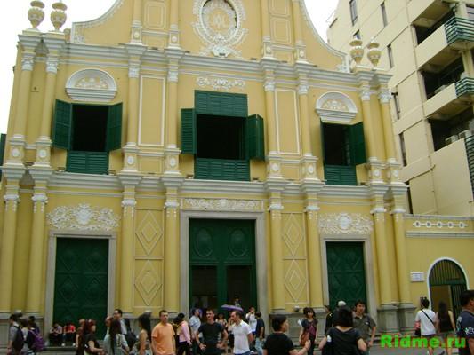 Церковь розы (Церковь Святого Доминго). Макао