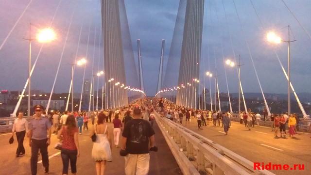 Мост через бухту Золотой рог. г. Владивосток