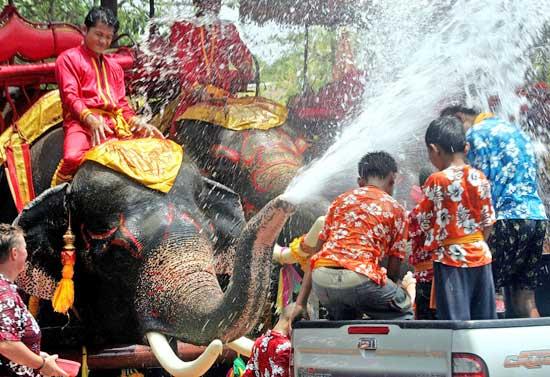 Сонгкран .Тайский Новый год.