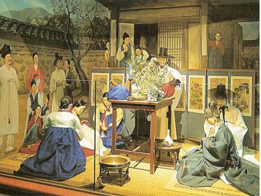 Церемония бракосочетания в Южной Корее.