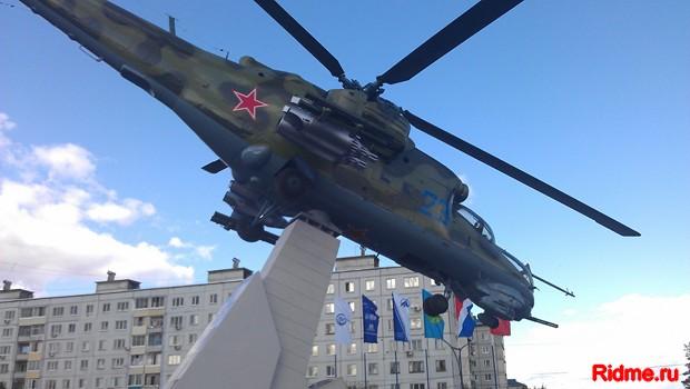 МИ-24. г.Арсеньев. Дальний Восток. Россия.